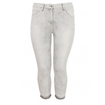 Coole Jeans im Destroyed-Look Frapp light grey denim