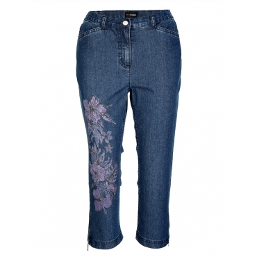 Jeans MIAMODA blau denim