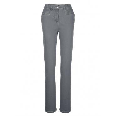 Jeans MIAMODA grey denim
