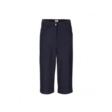 Klassischer Bermuda in leichter Baumwoll-Stretch-Qualität Gerke blau