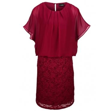 Kleid MIAMODA bordeaux