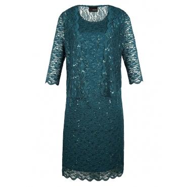 Kleid mit Bolero MIAMODA dunkelgrün
