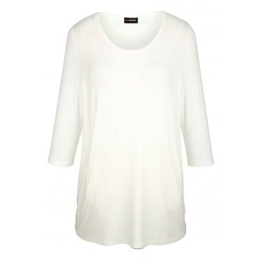 Longshirt MIAMODA Creme-Weiß