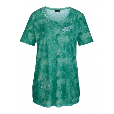 Longshirt MIAMODA Grün