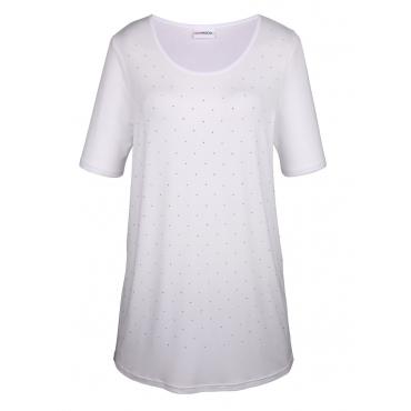 Longshirt MIAMODA Weiß