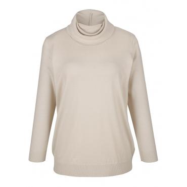 Pullover MIAMODA Creme-Weiß