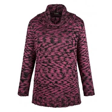 Pullover MIAMODA Schwarz::Pink