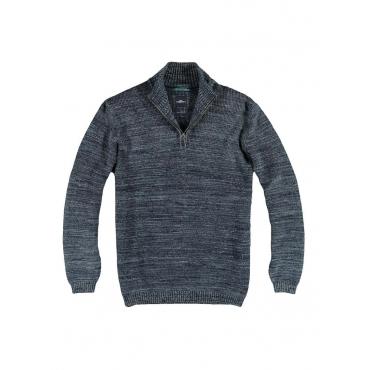 Pullover Polokragen Engbers Marineblau