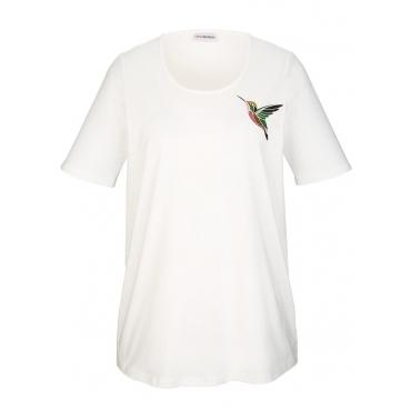 Shirt MIAMODA Creme-Weiß
