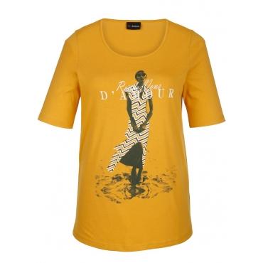 Shirt MIAMODA Gelb