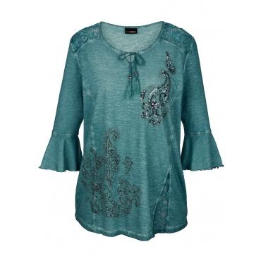 Shirt MIAMODA Türkis