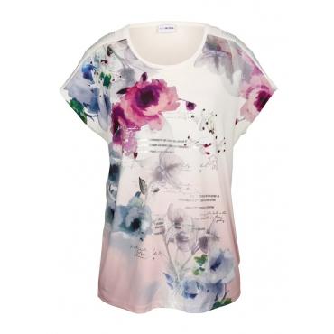 Shirt MIAMODA Weiß::Multicolor