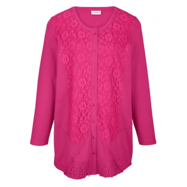 Shirtjacke MIAMODA Pink