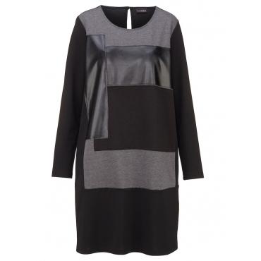 Shirtkleid MIAMODA schwarz/grau