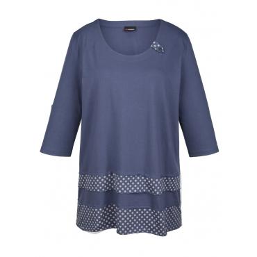 Shirttunika MIAMODA Blau