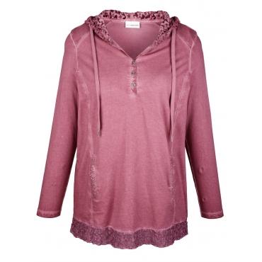 Sweatshirt MIAMODA Fuchsia