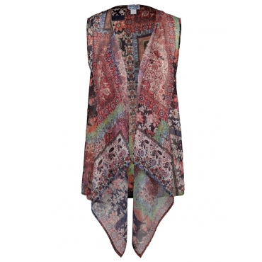 Weste mit Allover-Print Angel of Style Multicolor