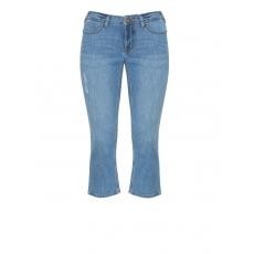 7/8-Bootcut Jeans Karen bleach destroyed