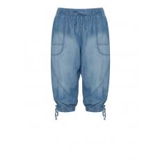 7/8-Jeans mit Bändchen zum Schoppen