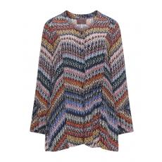 A-Linien-Bluse mit Allover-Print