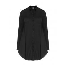 A-Linien-Bluse mit Hemdkragen