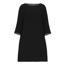 A-Linien-Kleid mit Spitzeneinsätzen