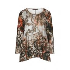 A-Linien Shirt mit Allover-Print