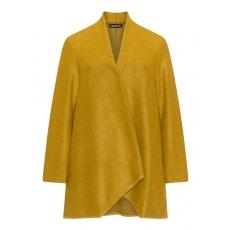 Ausgestellte Wollmix-Jacke mit Taschen