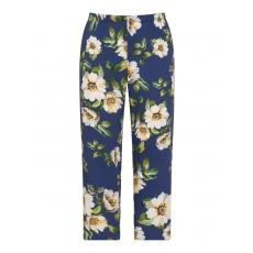Batist-Hose mit Allover-Blumen-Print