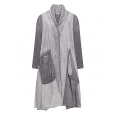 Baumwollmantel mit Taschen