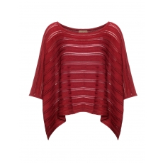 Baumwollmix-Oversize-Strickshirt