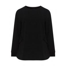 Baumwollmix-Pullover mit Deko-Klappen
