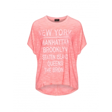Baumwollmix-Statement-Shirt