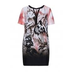 Bedrucktes Tunika-Kleid