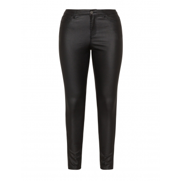 Beschichtete Slim Fit Jeans