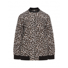 Blouson mit Animal-Print