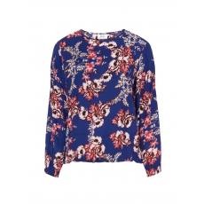 Bluse mit Allover-Blumen-Print