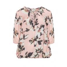 Blusenshirt mit Allover-Blumen-Print