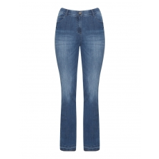 Bootcut Jeans Betty im Used-Look