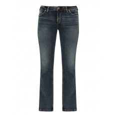 Bootcut-Jeans Calley im Used-Look