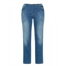 Bootcut Jeans Gemma im Washed-Out-Look