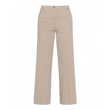 Elastische Jeans mit Gummibund
