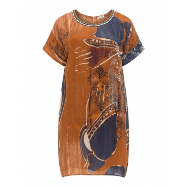 Ethno-Kleid mit Reißverschluss