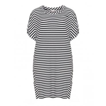 Gestreiftes Jersey-Shirtkleid