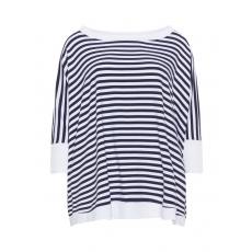 Gestreiftes Oversize-T-Shirt