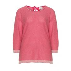 Glänzender Pullover aus Baumwollmix