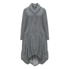 Haariger Baumwollmix-Mantel