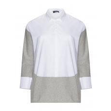 High-Low-Tunika mit Shirteinsätzen