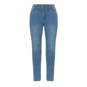 High Waist Jeans mit Shape-Einsatz