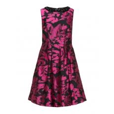Jacquard-Kleid mit Struktur
